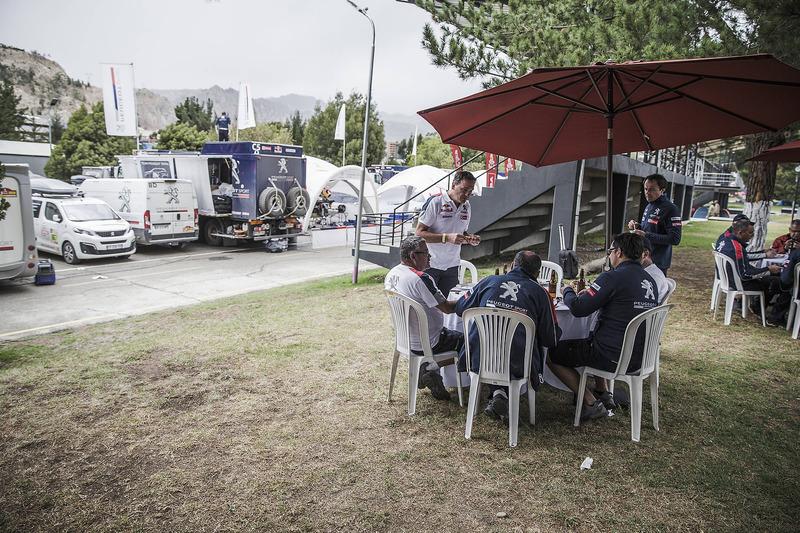 Peugeot Sport al bivacco