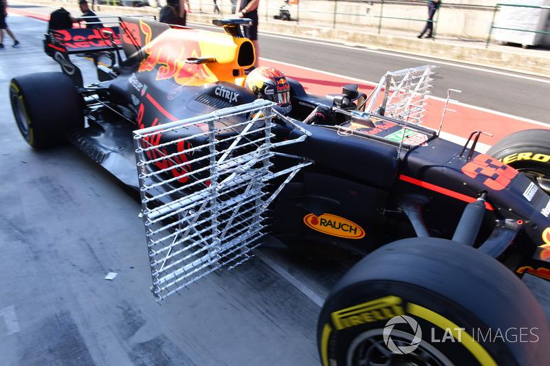 Макс Ферстаппен, Red Bull Racing RB13, аеро сенсори