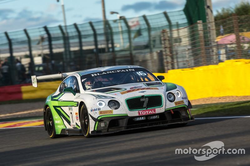 14. #7 Bentley Team M-Sport, Bentley Continental GT3