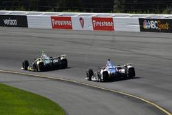 Ed Carpenter, Ed Carpenter Racing Chevrolet, Conor Daly, A.J. Foyt Enterprises Chevrolet