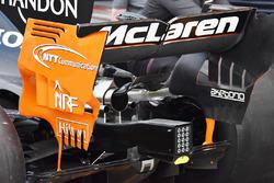 McLaren MCL32 alerón trasero