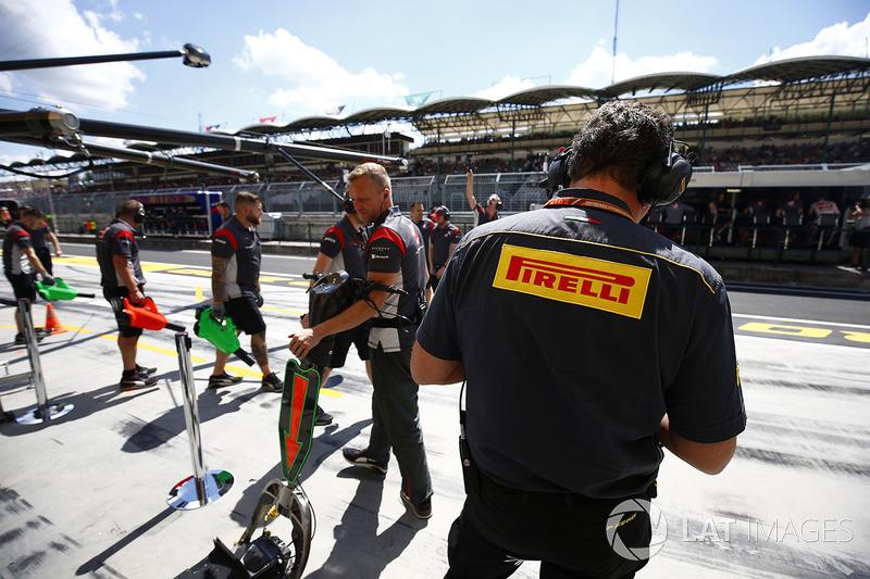 Mario Isola, Manager de carreras de Pirelli Motorsport