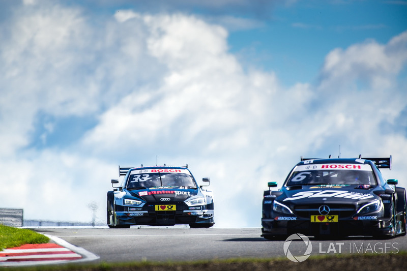 Рене Раст, Audi Sport Team Rosberg, Audi RS 5 DTM та Роберт Вікенс, Mercedes-AMG Team HWA, Mercedes-
