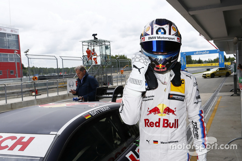 Pole position de Marco Wittmann, BMW Team RMG, BMW M4 DTM