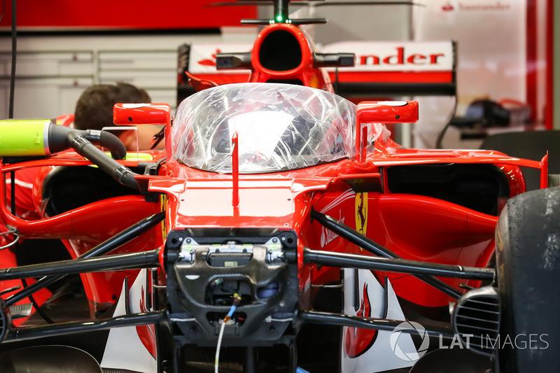 Ferrari SF70-H та система захисту