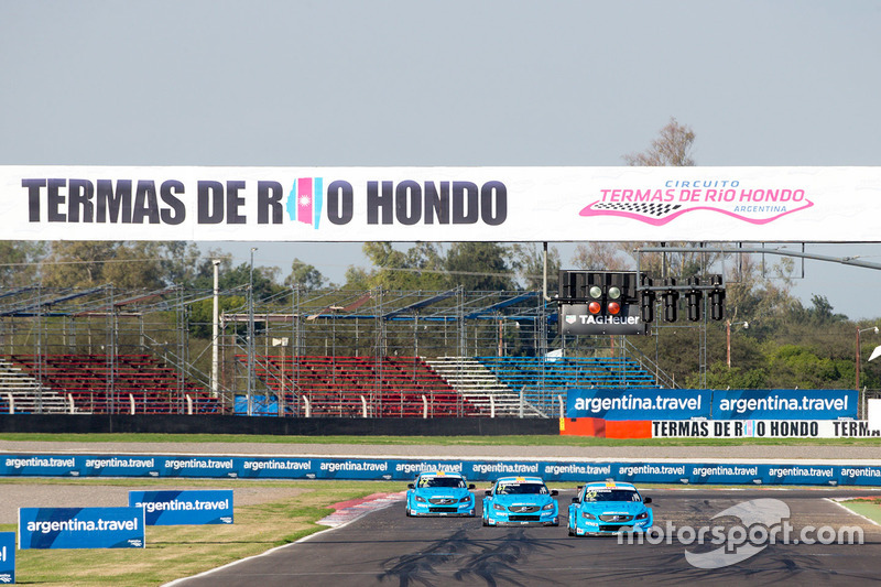 Нікі Катсбург, Тед Бйорк, Нестор Джироламі, Polestar Cyan Racing, Volvo S60 Polestar