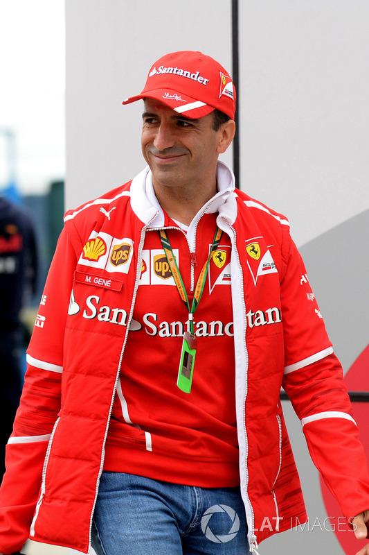Марк Жене, Ferrari