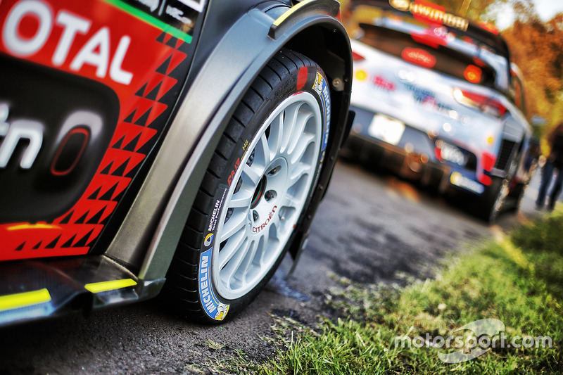 Citroën World Rally Team Citroën C3 WRC detail