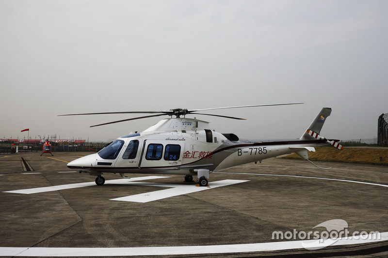 Медицинский вертолет Augusta-Westland AW109SP