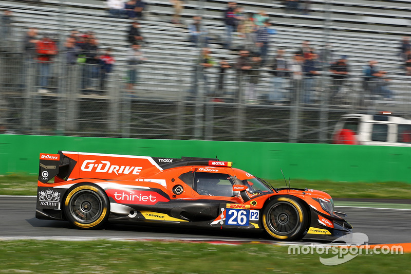 #26 G-Drive Racing, Oreca 07 Gibson: Roman Rusinov, Pierre Thiriet, John Martin