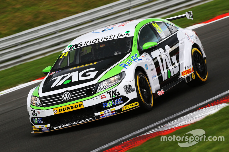 Jake Hill, TAG Racing, Volkswagen CC