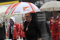 Сержо Маркіонне, генеральний директор FIAT, та Мауріцо Аррівабене, керівник Ferrari
