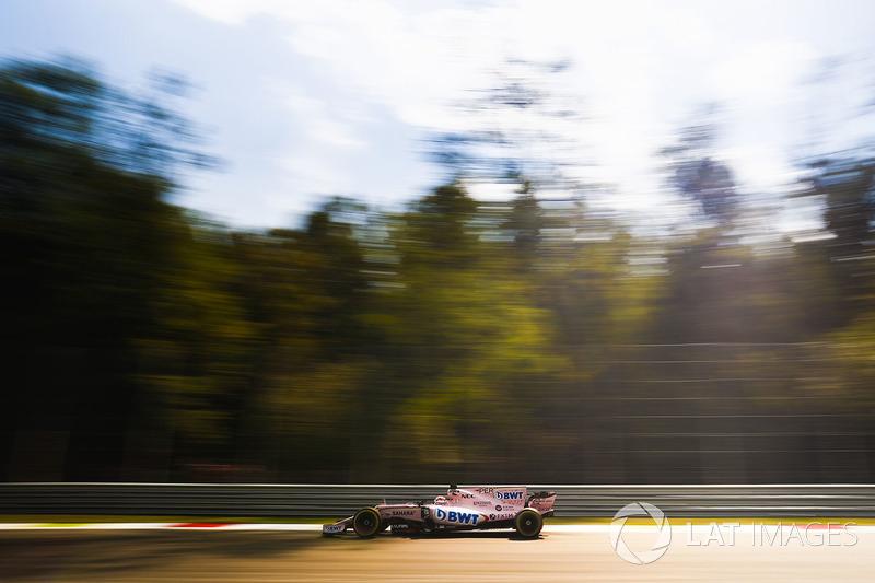2. Sergio Perez, Sahara Force India F1 VJM10