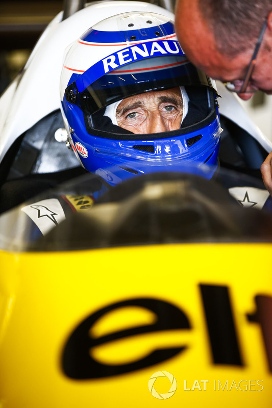 Ален Прост, Renault Sport F1 Team RE40