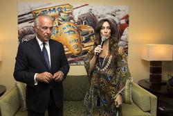 Bianca Senna à l'inauguration de la Suite Ayrton Senna du Fairmont Hotel