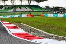 Randsteine am Sepang International Circuit