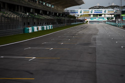 The Sepang pit straight