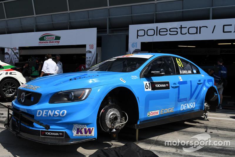 La Volvo di Nestor Girolami, Polestar Cyan Racing