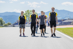 Bruno Baptista, DAMS, Santino Ferrucci, DAMS walk the track