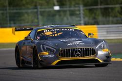#87 AKKA ASP Mercedes AMG GT3: Anthony Pons