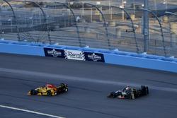 Райан Хантер-Рей, Andretti Autosport Honda, и Эд Карпентер, Ed Carpenter Racing Chevrolet