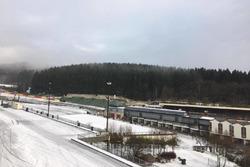 Spa-Francorchamps im Schnee
