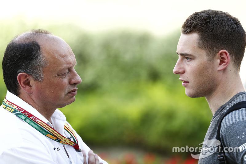 Frederic Vasseur, ART, Teamchef; Stoffel Vandoorne, McLaren