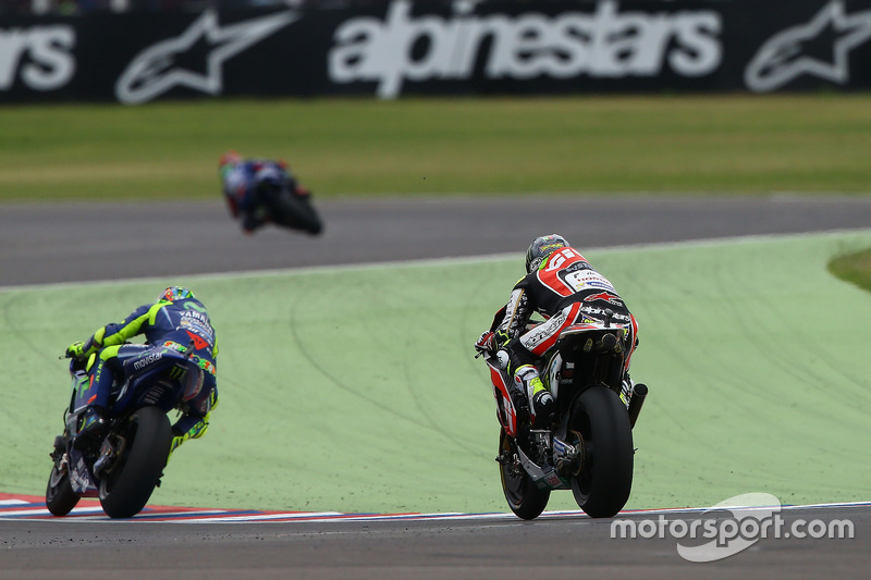 Maverick Viñales, Yamaha Factory Racing, Valentino Rossi, Yamaha Factory Racing, Cal Crutchlow, Team LCR Honda