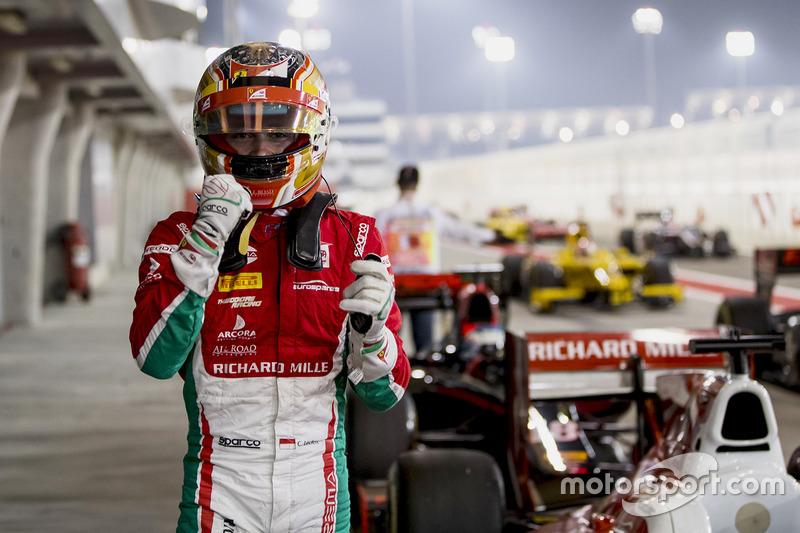 Polesitter Charles Leclerc, PREMA Racing