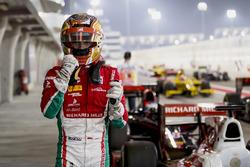 Charles Leclerc, PREMA Racing, auteur de la pole position