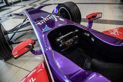 DS Virgin Racing kokpit detay