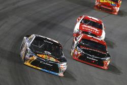 Corey Lajoie, JGL Racing Toyota and Matt Tifft, Joe Gibbs Racing Toyota