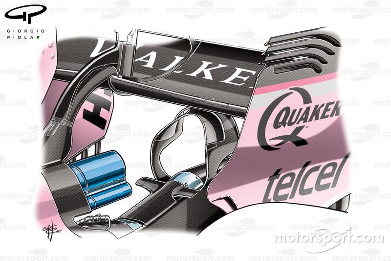 Force India VJM12 monkey seat