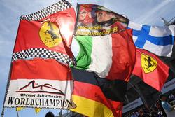 Des drapeaux Michael Schumacher