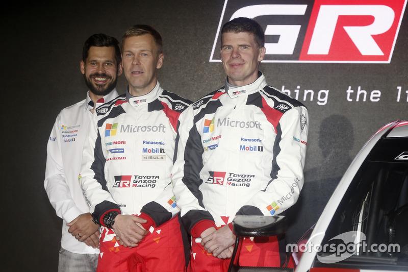Kaj Lindström; Miikka Anttila; Toyota Racing, Toyota Yaris WRC 2017