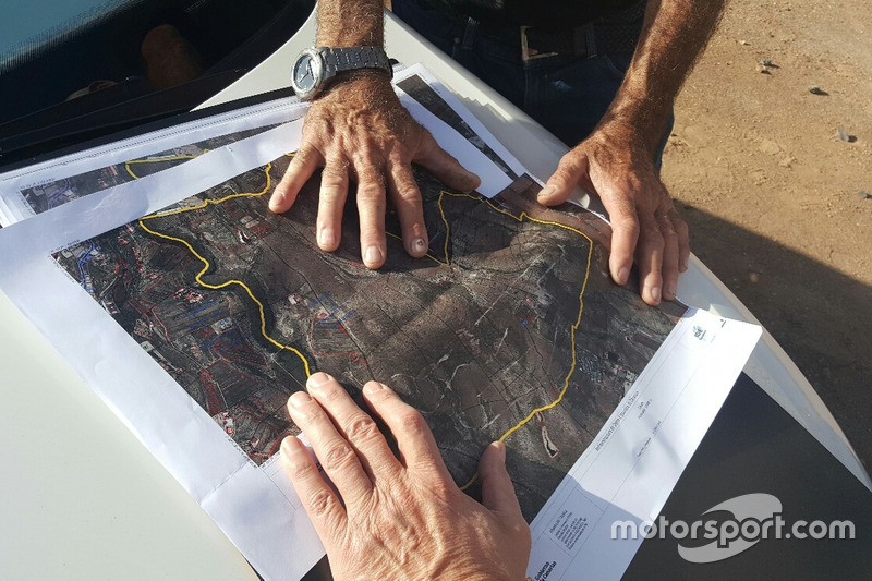 La piantina del circuito
