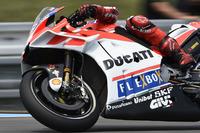 Jorge Lorenzo, Ducati Team, teste un nouveau carénage