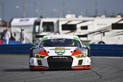 #23 Alex Job Racing Audi R8 LMS GT3: Білл Свідлер, Таунсенд Белл, П'єрр Каффер, Франк Монтекалво