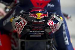 Detail vom Bike des Honda World Superbike Team