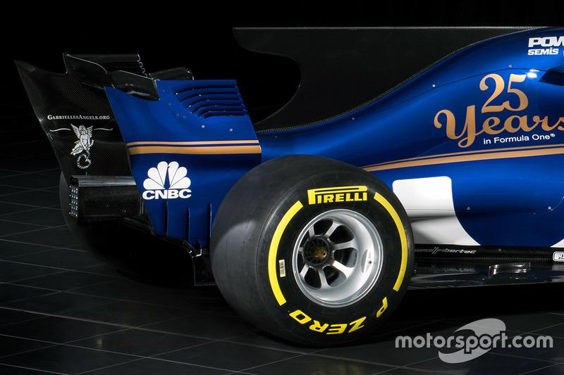 Деталі заднього крила Sauber C36
