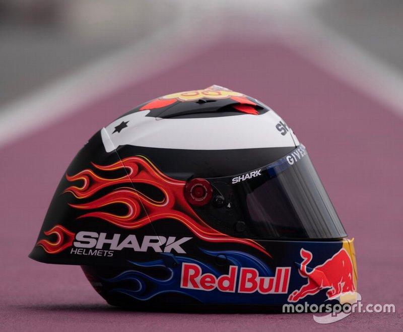 Jorge Lorenzo, Repsol Honda, new helmet 2019