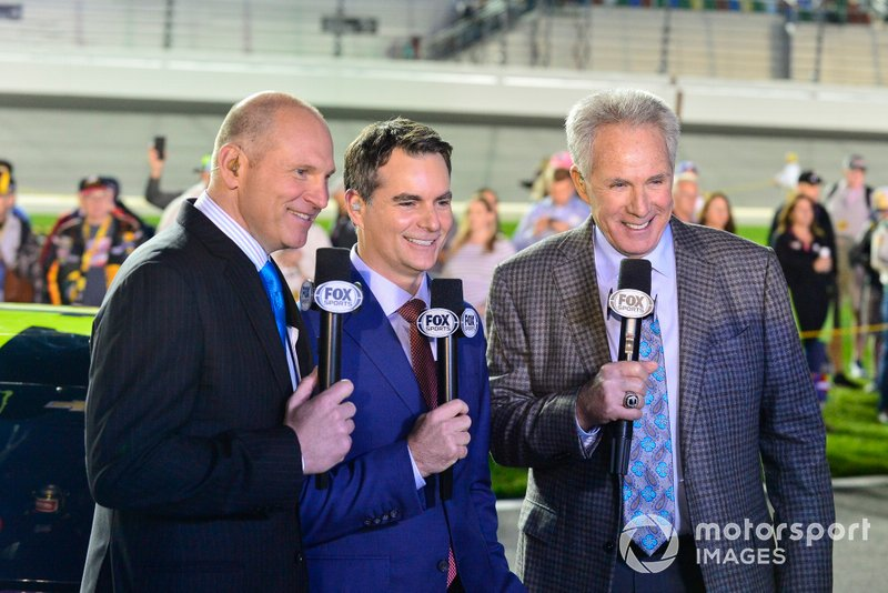Adam Alexander, Jeff Gordon, Darrell Waltrip, FOX Sports