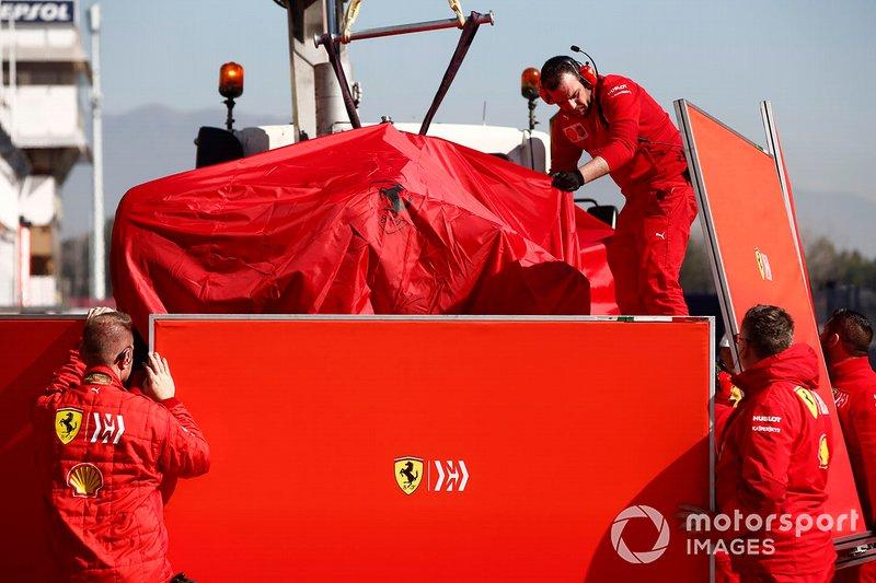 Mobil Sebastian Vettel, Ferrari SF90