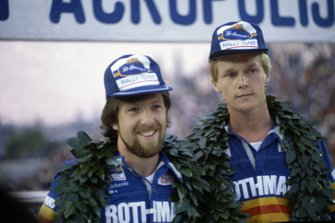 Ari Vatanen et David Richards