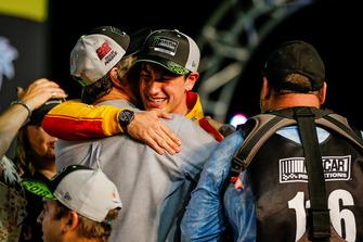 NASCAR Cup-Champion 2018: Joey Logano, Team Penske, Ford Fusion, mit Vater John