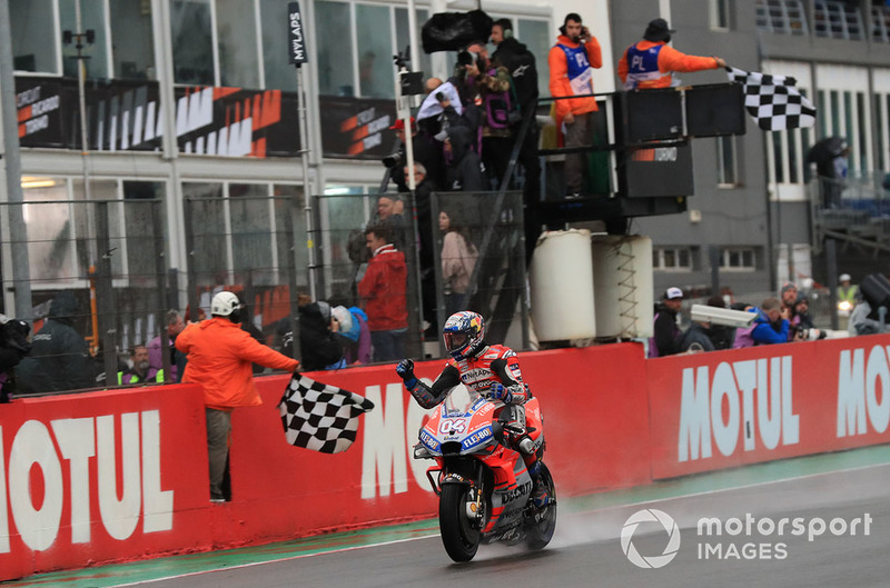 19. Фінал сезону, Гран Прі Валенсії - переможець Андреа Довіціозо, Ducati Team