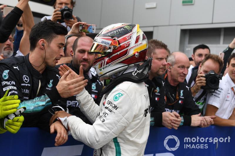 Yarış galibi: Lewis Hamilton, Mercedes AMG F1