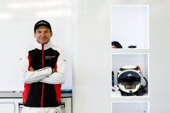 Porsche works driver Richard Lietz