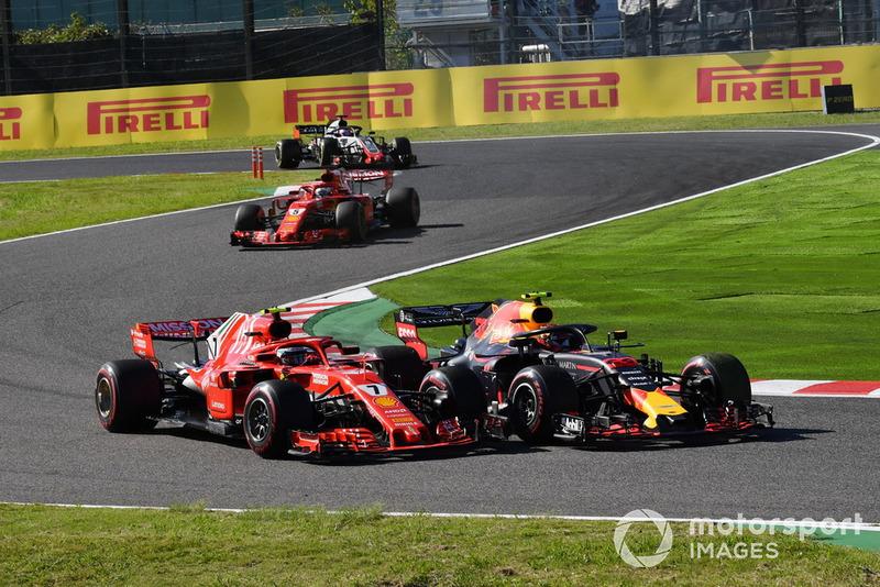 GP Jepang - Max Verstappen/Kimi Räikkönen (balapan)