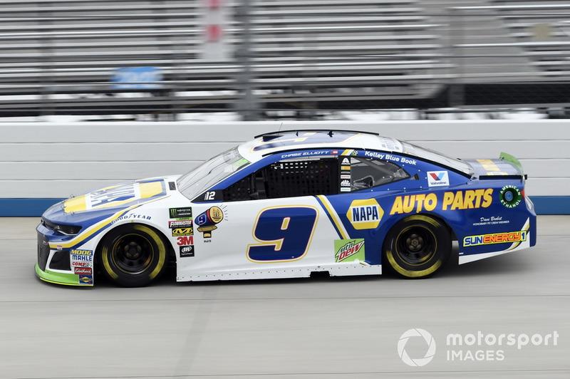 9. Chase Elliott, Hendrick Motorsports, Chevrolet Camaro NAPA Auto Parts